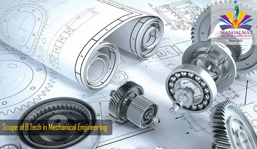 Scope of B Tech in Mechanical Engineering