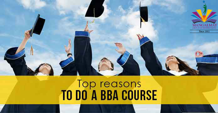 Reason for taking admission in BBA
