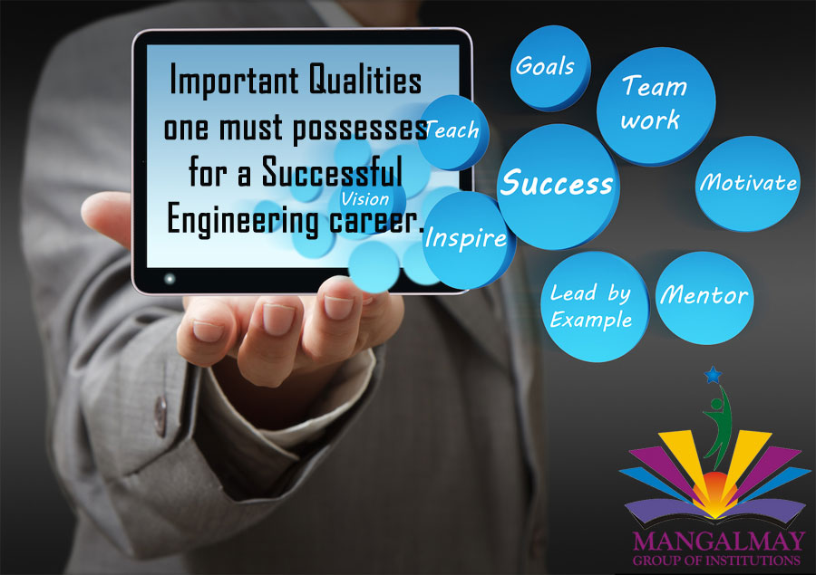 Important Qualities one must possesses for a Successful Engineering career: