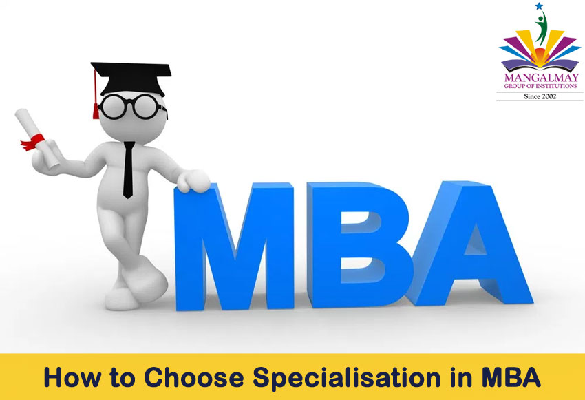 How to Choose Specialisation in MBA