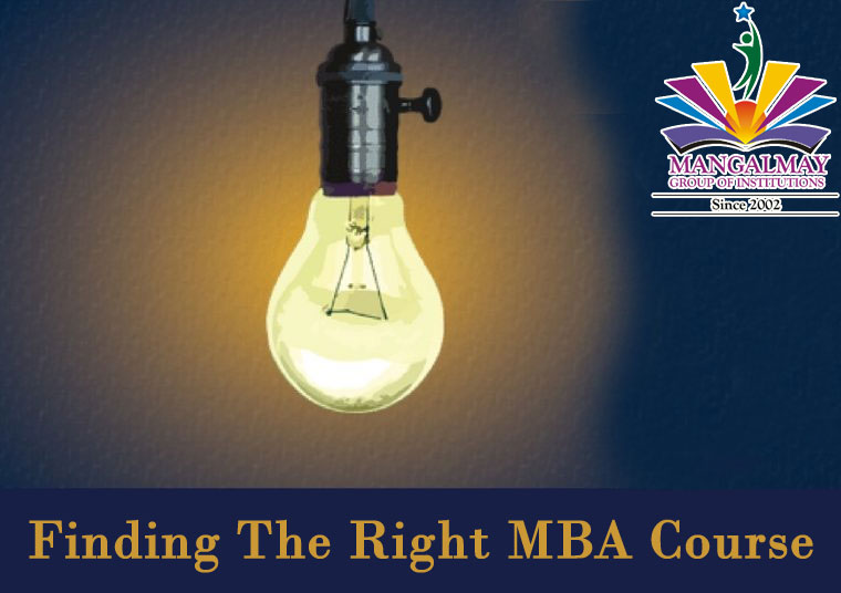 Finding the right MBA course