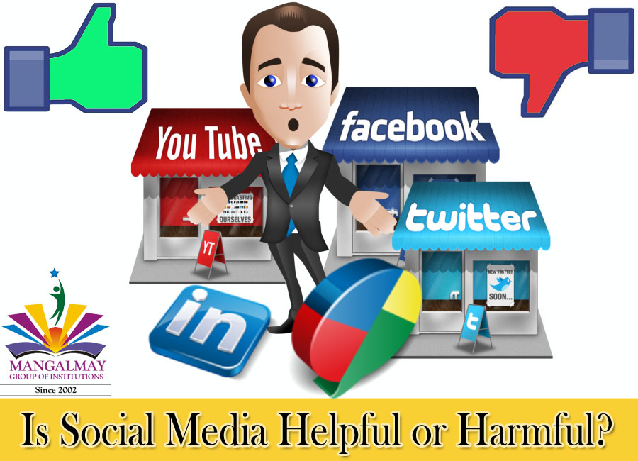 Is Social Media Helpful or Harmful?