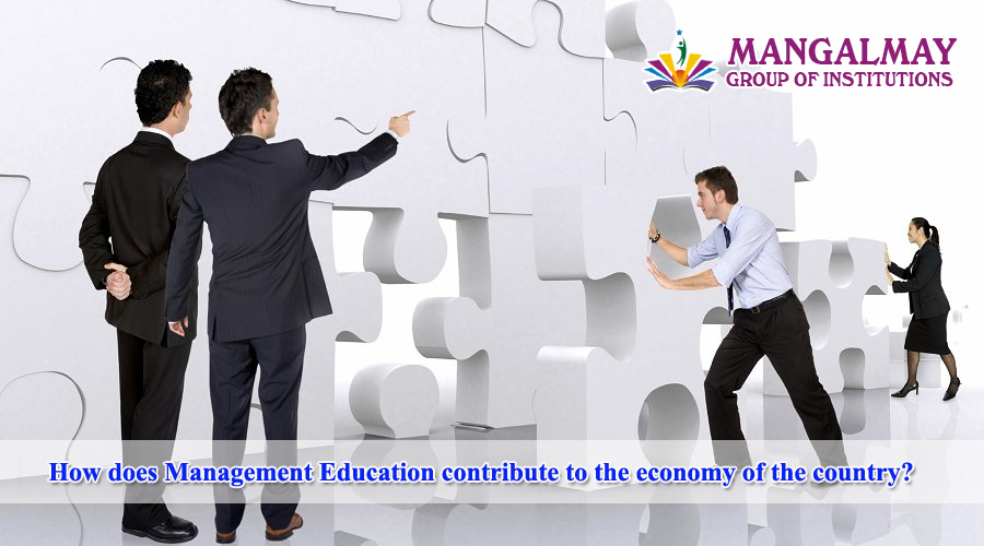 Management Education contribute