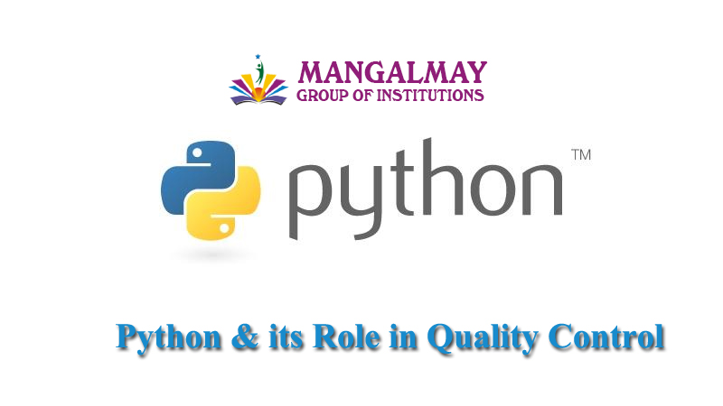Python & its Role in Quality Control