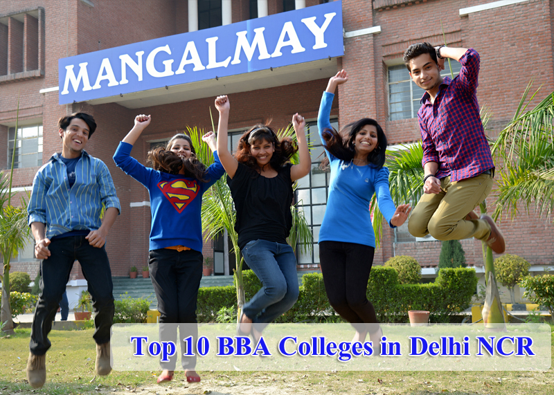 Top 10 BBA Colleges in Delhi NCR