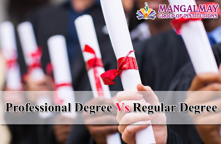 Professional Degree Vs Regular Degree