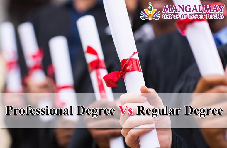 Professional Degree Vs Regular Degree