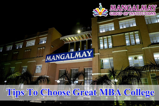 Tips To Choose Great MBA College
