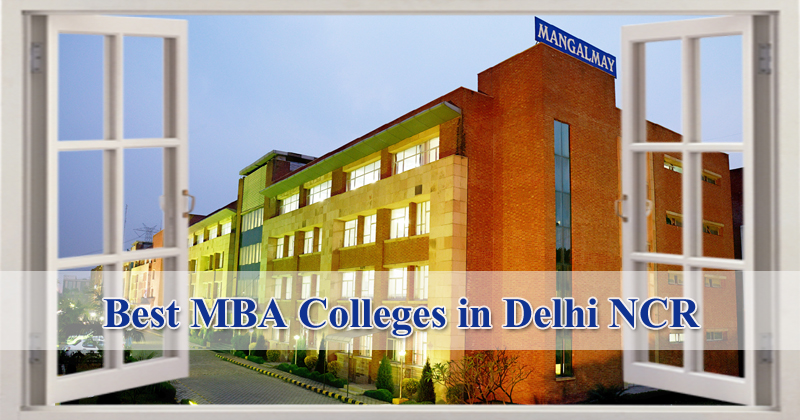 Best MBA Colleges in Delhi NCR