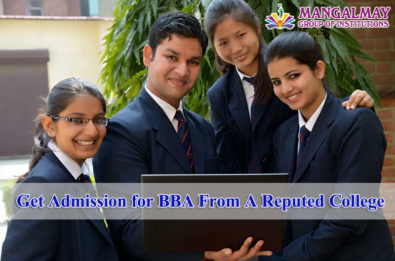 Get Admission for BBA From A Reputed College