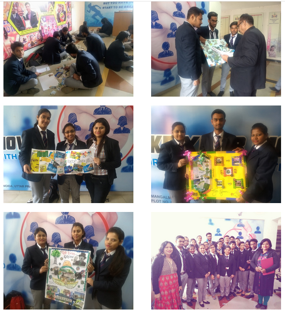 Report of Collage Making Competition