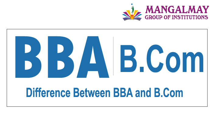 Difference Between BBA and BCom
