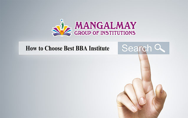How to Choose Best BBA Institute