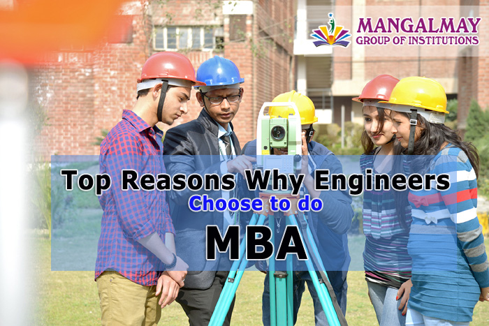 why engineers choose to do MBA