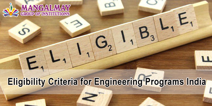 Eligibility Criteria for Engineering