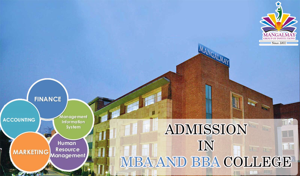 Admission in MBA and BBA College