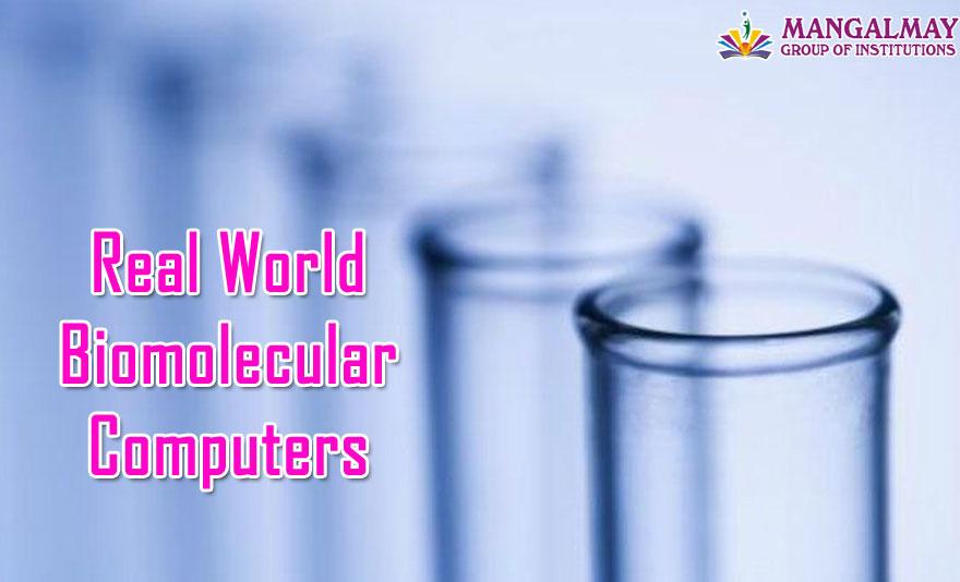 Real world Biomolecular computers