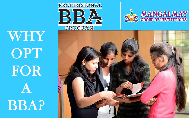 Why opt for a BBA?