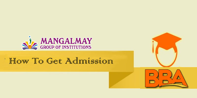 How to get admission for BBA?