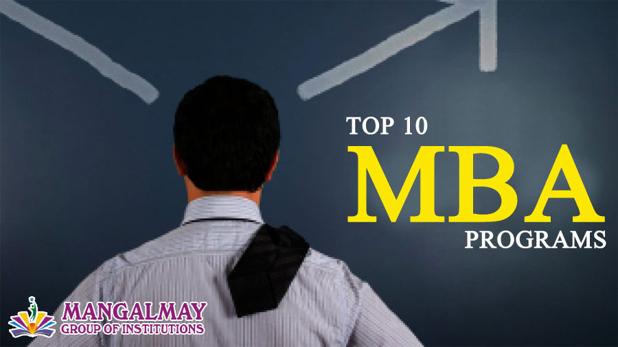 Top 10 MBA programs
