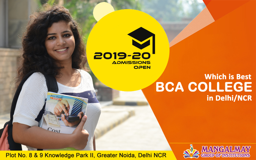 Which college is best for BCA in Delhi/NCR?