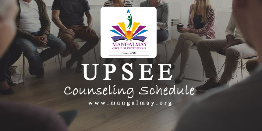 UPSEE Counseling Schedule