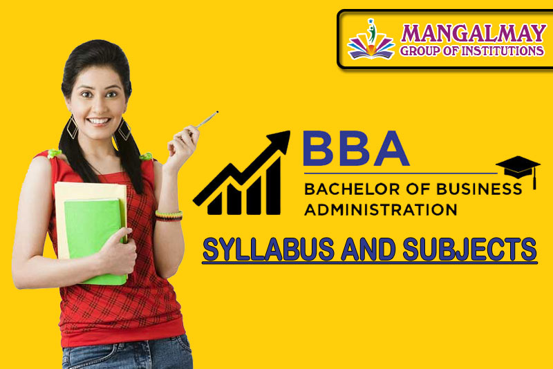BBA Syllabus and Subjects