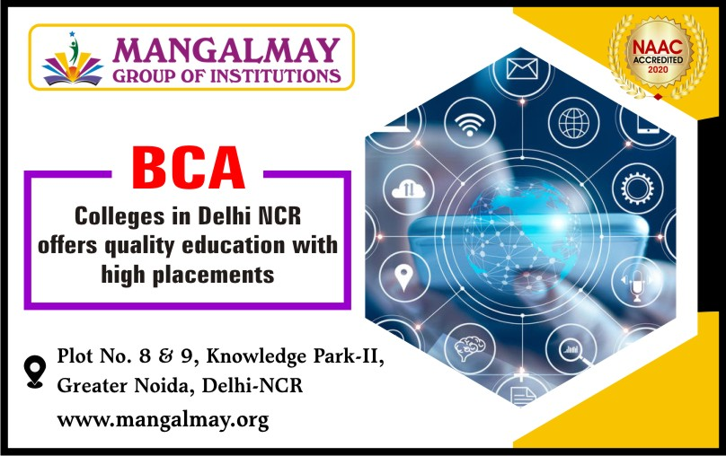 BCA colleges in Delhi NCR