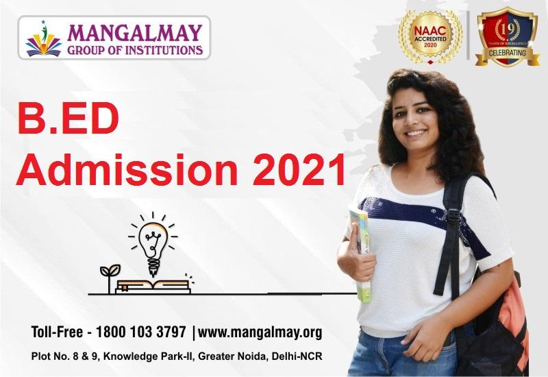 B.ED Admission 2021