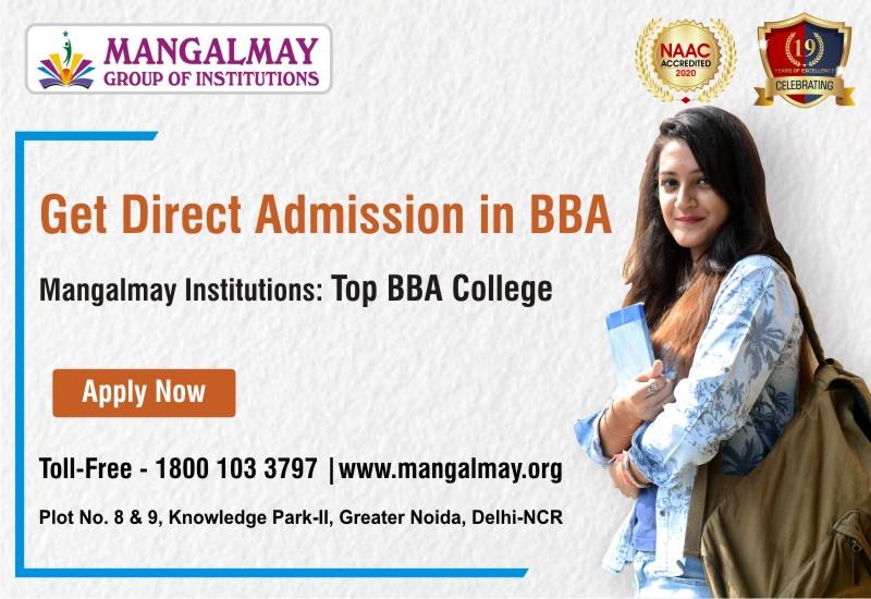 BBA admission 2021