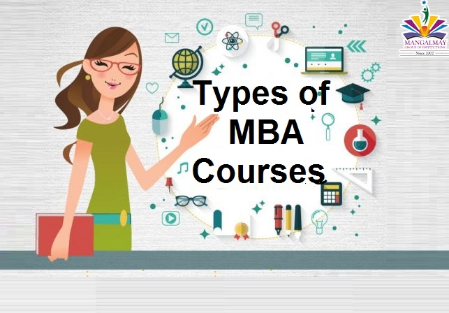 Types of MBA Courses
